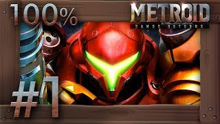 Metroid Samus Returns - 100% Walkthrough Part 1 | Surface (All Missiles & Energy Tanks) 3DS Gameplay