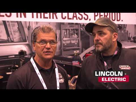 Fabtech 2017 LIVE from the Lincoln Electric Booth