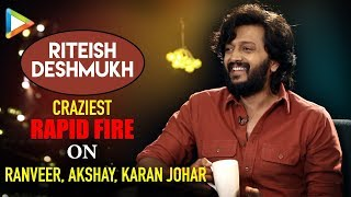 """Ajay Devgn is PRANK MASTER"": Riteish Deshmukh 