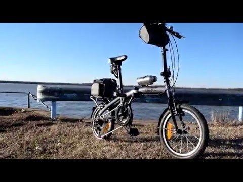 """Citizen Tokyo"" Folding Bike (Affordable and Reliable!)"