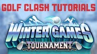 Golf clash expert winter games hole 9