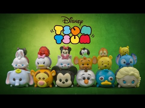 Disney Tsum Tsum Figures 9-Pack from Jakks Pacific