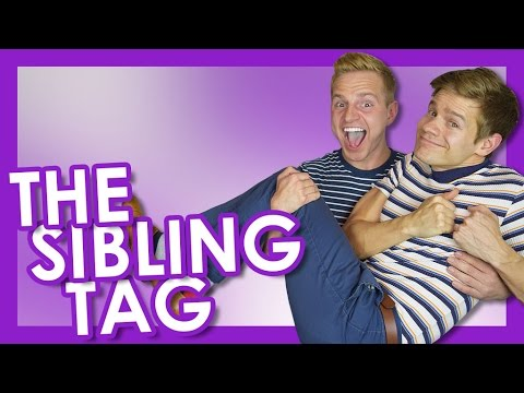 Sibling Tag with Andrew Keenan-Bolger | TYLER MOUNT