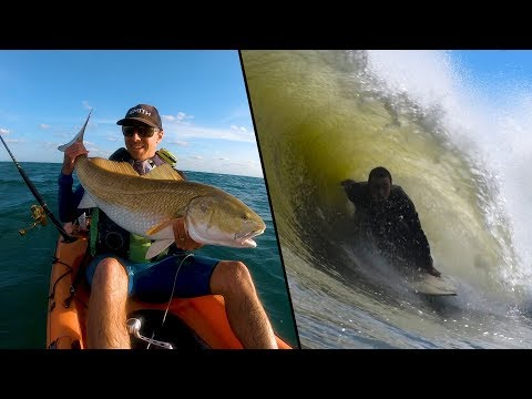 Brett Barley on the Art of Kayak Fishing and Getting Tubed
