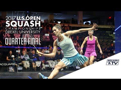 Squash: Women's QF Roundup Pt. 2 - U.S. Open 2017