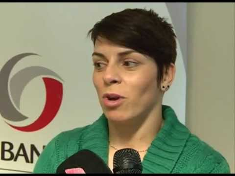 Izjava Ane Djokic povodom svečanog  prijema u Prvoj Banci Crne Gore