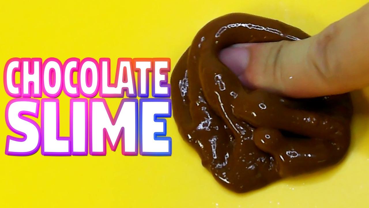 How To Make Chocolate Slime Putty