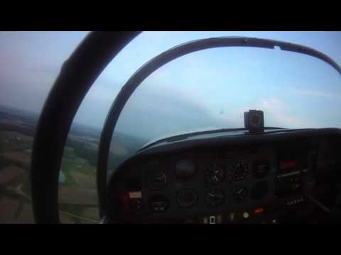 Simulated Engine Failure Landing Grumman AA1A