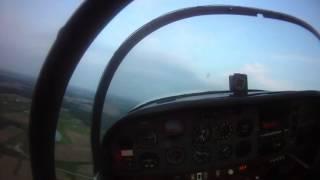 Simulated Engine Failure Landing Grumman AA1A