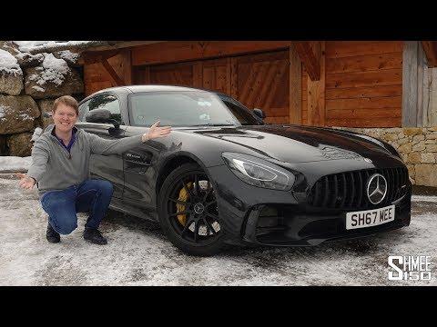 My AMG GT R is Truly a Schneemobil! | VLOG