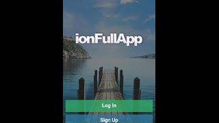 FullApp - Ionic Starter App