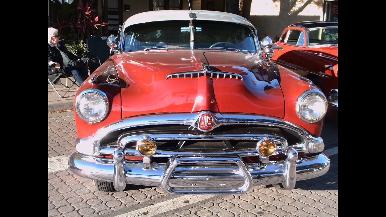 1953 Hudson Hornet Four Door Sedan RedWht NewSmyrna021415
