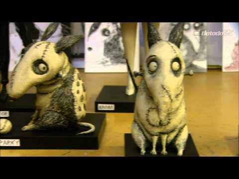 Frankenweenie - Behind the Scenes Set Tour - Tim Burton, Character Maquettes, Puppet Hospital