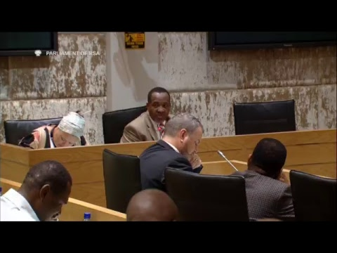 Minister Zweli Mkhize briefs Parliament on Municipalities that invested in the VBS bank