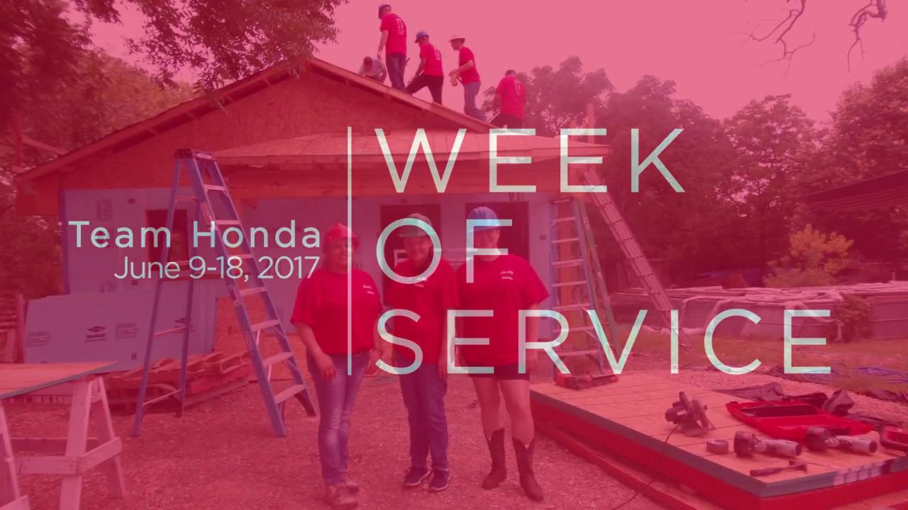 Gillman Honda San Antonio Team Week Of Service
