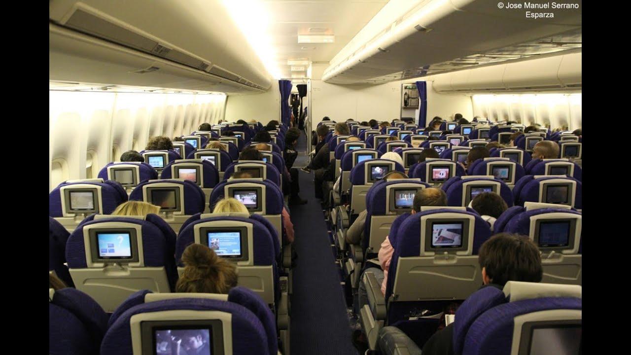 Concorde Plane Interior