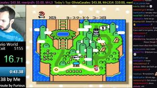 [WR] Super Mario World 0 Exit in 42.15 by SethBling