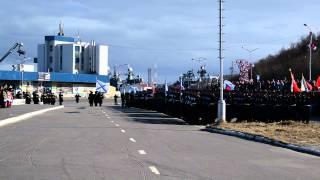 9 мая 2013 в Североморске (Beginning Military Parade on Victory Day 2013)
