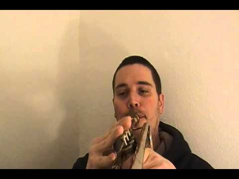 A trumpet solo on C Jam Blues plus Invitation to Join the  JazzTrumpetLicks com free newsletter