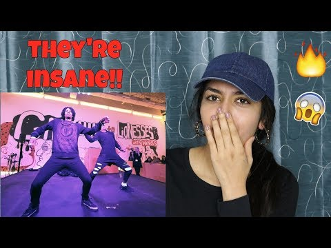 Les Twins at SFMOMA Birthday Bash x YAK Films | REACTION