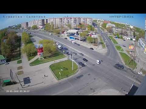 ДТП Челябинск Комарова-Салютная