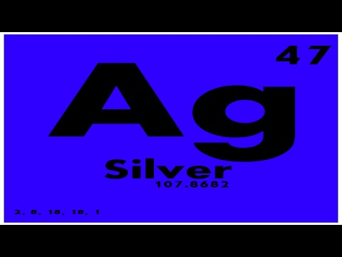 Study guide 47 silver periodic table of elements youtube study guide 47 silver periodic table of elements urtaz Image collections