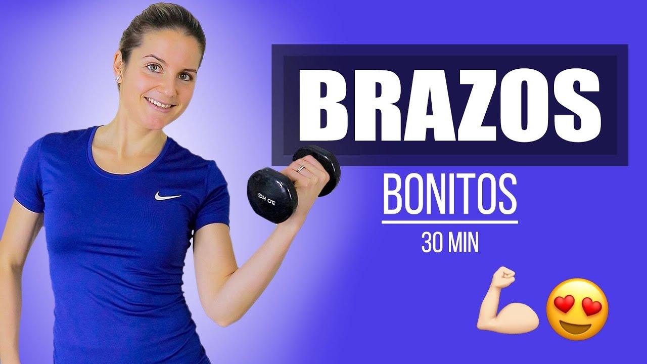 Brazos Bonitos Y Fuertes Youtube Ejercicios De Cardio Ejercicios De Entrenamiento Ejercicios Para Brazos