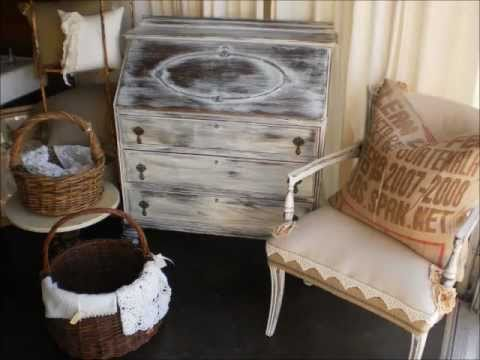how to paint furniture. ditressed, aged looking patina. - How To Paint Furniture. Ditressed, Aged Looking Patina. - YouTube