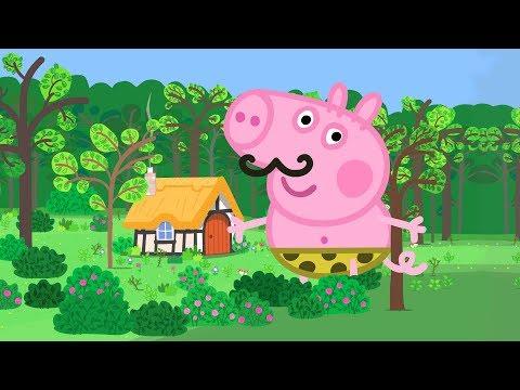 Peppa Pig Português Brasil - George el gigante 💚Pepa ping ping