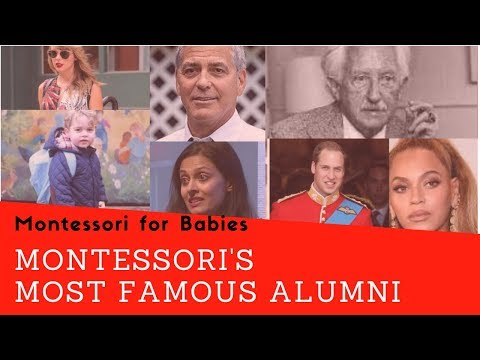Can you name these 10 famous Montessori alumni?