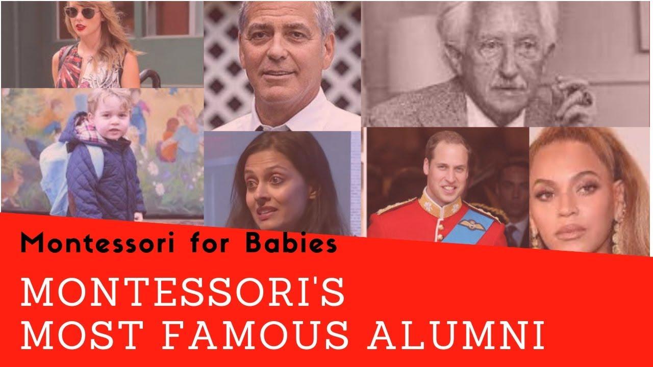 Can you name these 10 famous Montessori alumni?