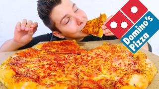 Eating Pizza & Talking About Vegans • MUKBANG