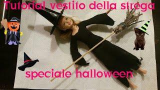 Speciale halloween come fare un vestito da strega per stacie - tutorial di barbie my life