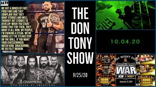 WWE SMACKDOWN Review 9/25/20; MORE Retribution NAMES; Better BO-LIEVE An NXT RETURN 10/4 + Lots More