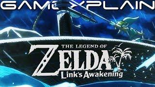 Zelda: Link's Awakening - Full Opening Cutscene + Title Screen Sequence (Nintendo Switch)
