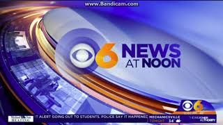 25 Days of News 2017: Day 7: WTVR CBS 6 News at Noon open December 6, 2017