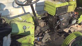 Мотоблок Зубр 12 л.с.  - Вода из под головки - Газы в радиаторе.(, 2015-11-03T05:57:49.000Z)