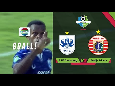 Goal Melcior Majefat - PSIS Semarang (1) vs Persija (4) | Go-Jek Liga 1 bersama Bukalapak