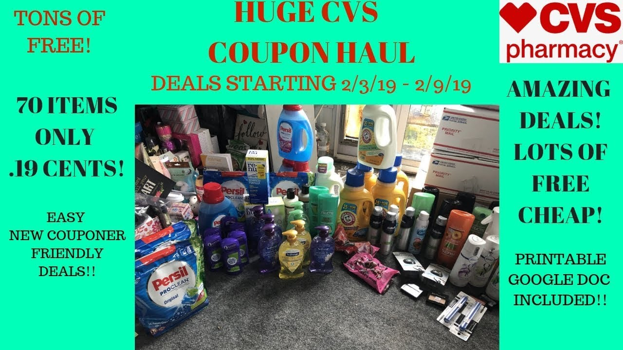 6a303b29c56b CVS Coupon Haul Deals Starting 2 3 19~70 Items ONLY 19 CENTS ...
