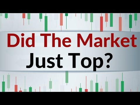Did the stock market put in a big top?