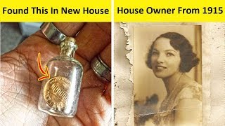 People Who Moved To New House And Found The Most Mysterious Things (PART 2!)