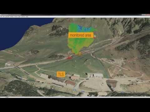 DE-MONTES Deformation Monitoring by High Resolution Terrestrial Long Range Sensing