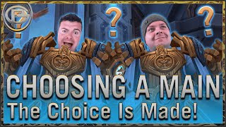 Choosing A Main - The Choice is Made!