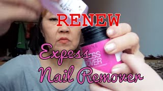 Можно ли использовать повторно экспресс-ремувер для ногтей Мэйбелин