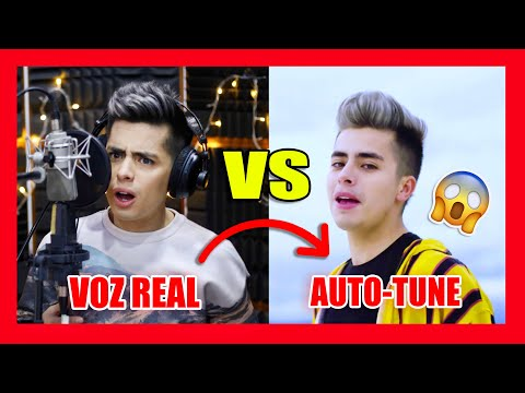 MI VOZ REAL SIN AUTOTUNE (ORIGINAL VS AUTO-TUNE) Me Atrapó, Roast Yourself...