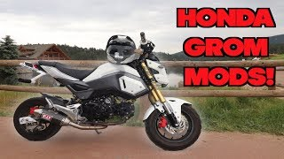 Best Honda Grom Mods!
