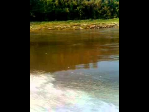 Speed boat from Houayxay to LuangPrabang