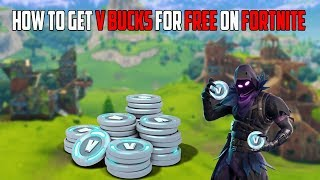 HOW TO GET FREE V BUCKS ON FORTNITE (NO SURVEY)
