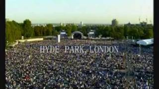 One Night Of Queen - BBC Proms In The Park, Hyde Park London 2009.