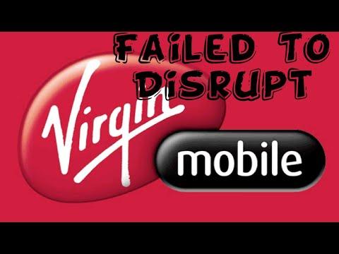Virgin Mobile USA Failed To Disrupt